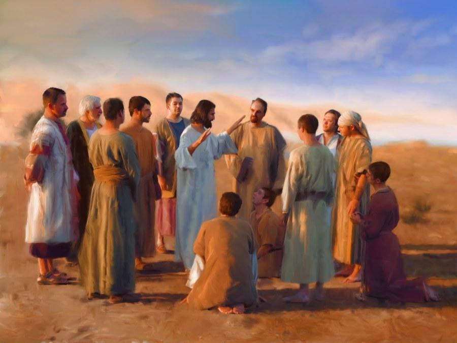 Resultado de imagen para «Cuando entréis en una casa, quedaos en ella hasta marchar de allí. Si algún lugar no os recibe y no os escuchan, marchaos de allí sacudiendo el polvo de la planta de vuestros pies, en testimonio contra ellos». Y, yéndose de allí, predicaron que se convirtieran; expulsaban a muchos demonios, y ungían con aceite a muchos enfermos y los curaban.
